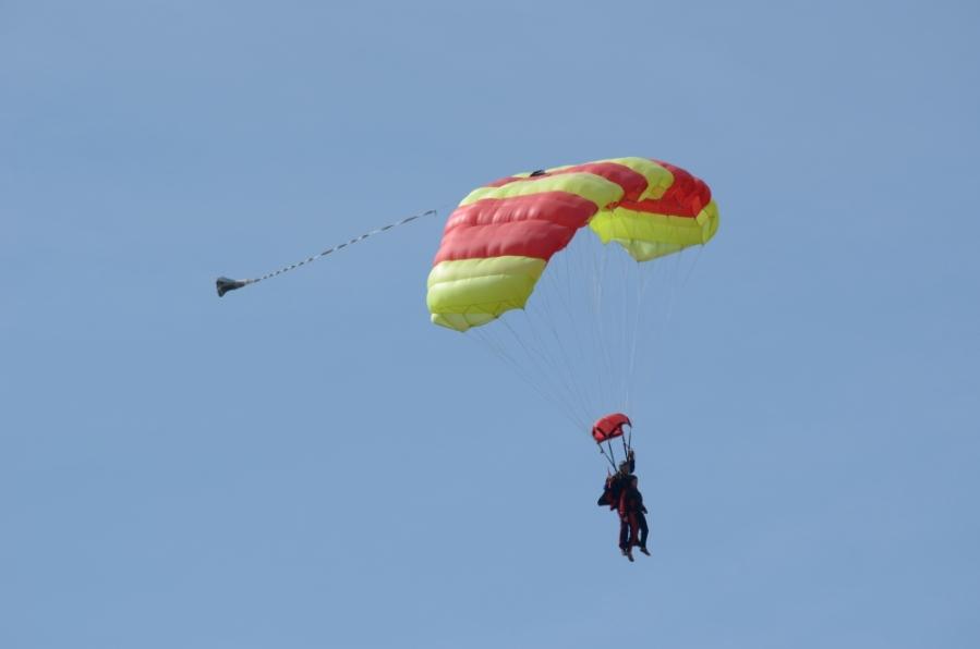 Fallschirm Fliegen