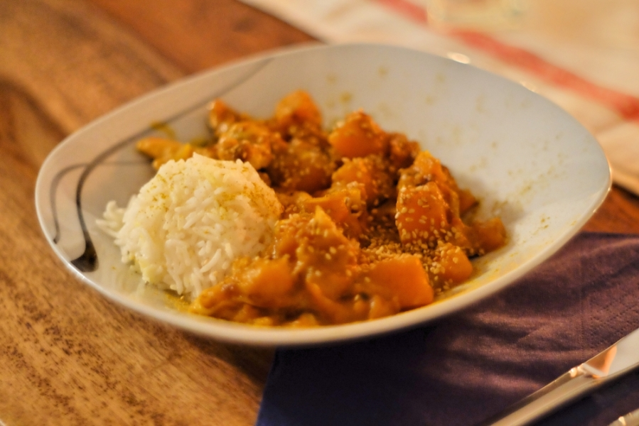 Butternut Chicken Curry